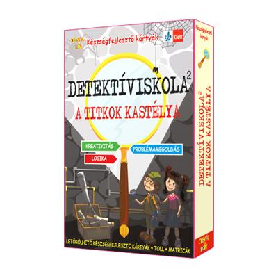 Detektíviskola 2 - A titkok kastélya