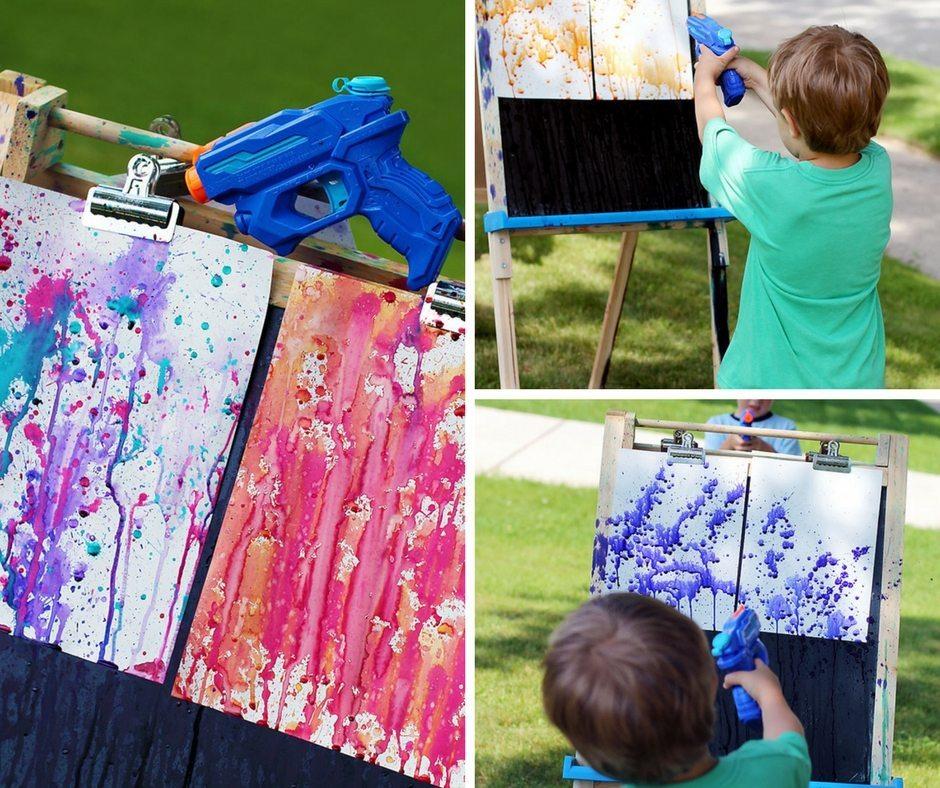 Squirt-Gun-Painting-a