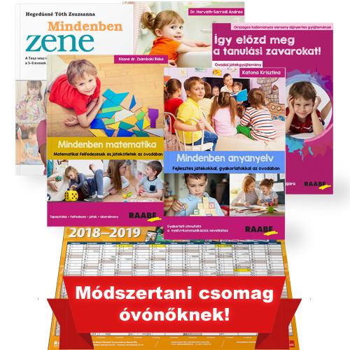 Nagy óvodai fejlesztő csomag ajándék plakátnaptárral