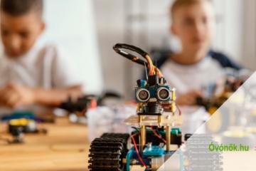 Új elearning képzés indul - Robotika az óvodában
