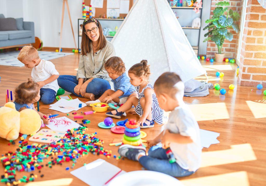 Nyár az óvodában - Játékok a csoportszobában
